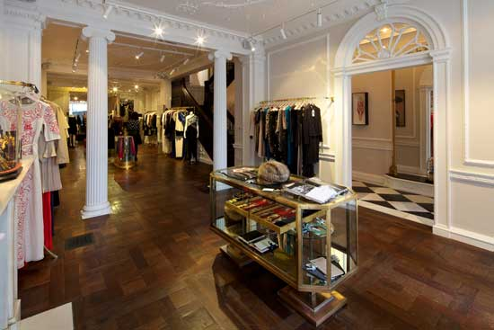 Alice temperley store londra an shopfitting magazine for Quartiere mayfair londra