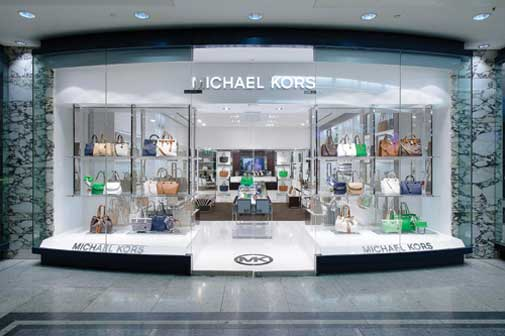 6a96239a809f1 American fashion designer Michael Kors has opened a new store in Jubilee  Place at Canary Wharf