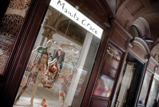 MANILA GRACE Store Bologna Giraldi Associati