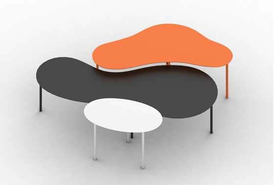 Prints tavolini componibili