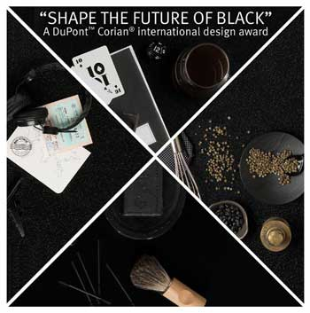 DuPont™ Corian® design Shape The Future Of Black