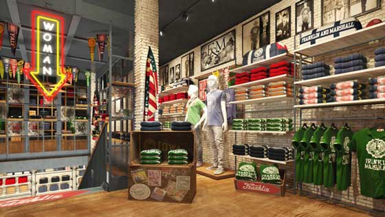 FRANKLIN MARSHALL FLAGSHIPSTORE LONDON