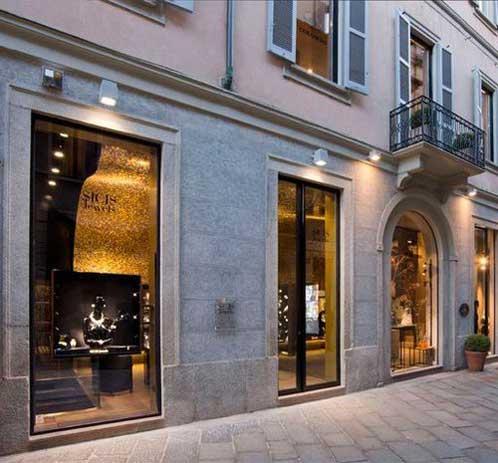 Sicis Jewels boutique milano
