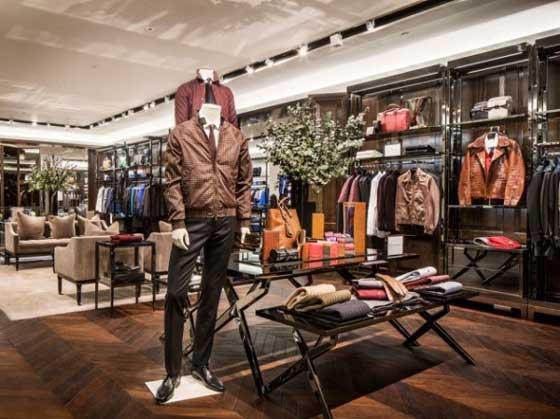 Burberry flagship store Shanghai