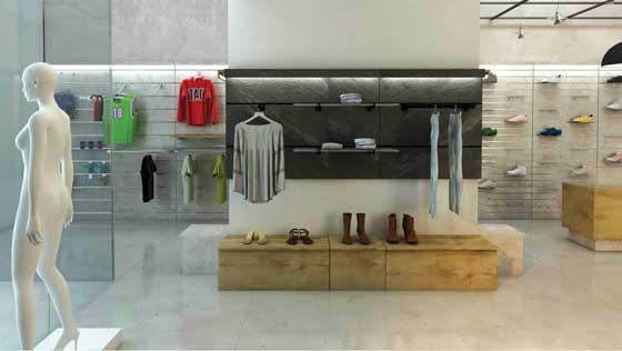 La Pietra Dogata Brugnotto Shop Interiors