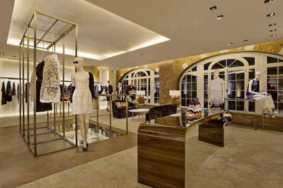 Fendi flagship store London