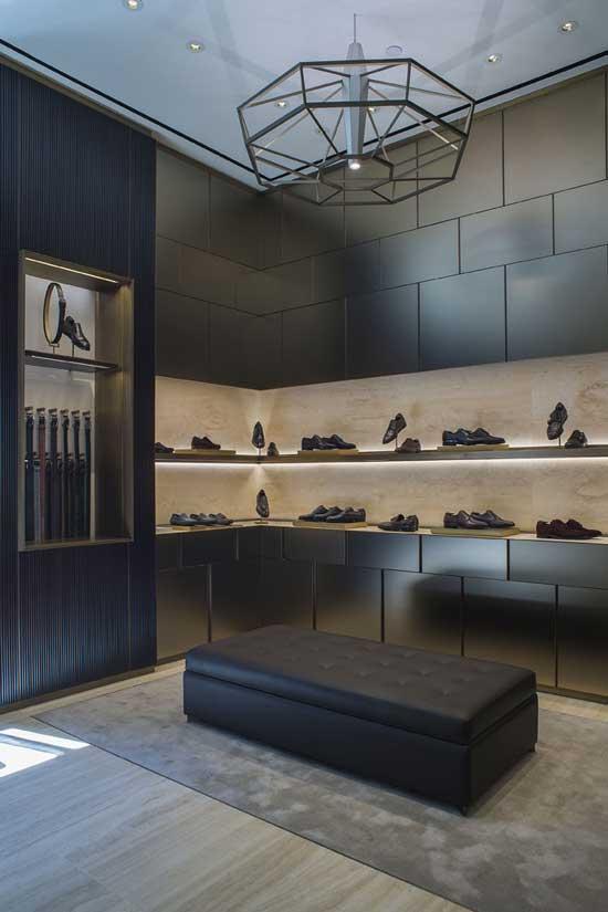 Brioni Boutique Milano Studio Park Associati