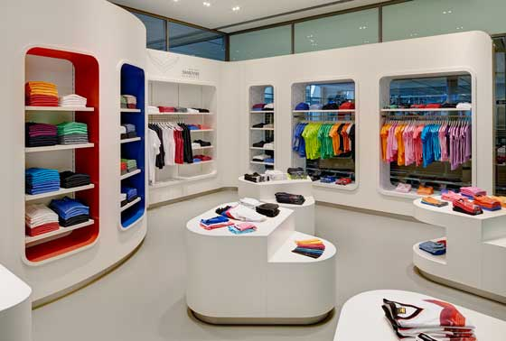 nuovo concept store per trigema an shopfitting magazine. Black Bedroom Furniture Sets. Home Design Ideas