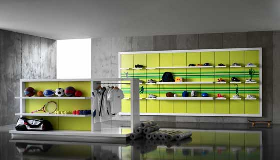 CRC arredamenti linee sportswear