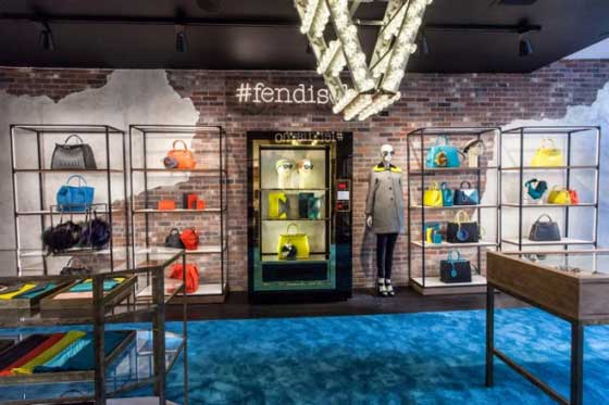 #fendisoho New York, il nuovo pop-up-store di Fendi