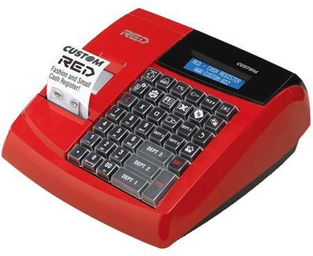 RED il nuovo registratore di cassa CUSTOM