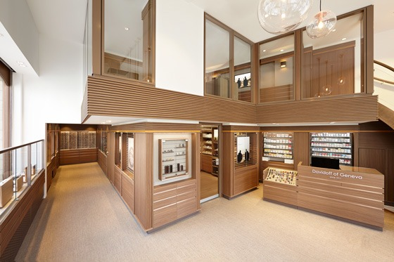 Davidoff Brussels flagship store by Arno Group