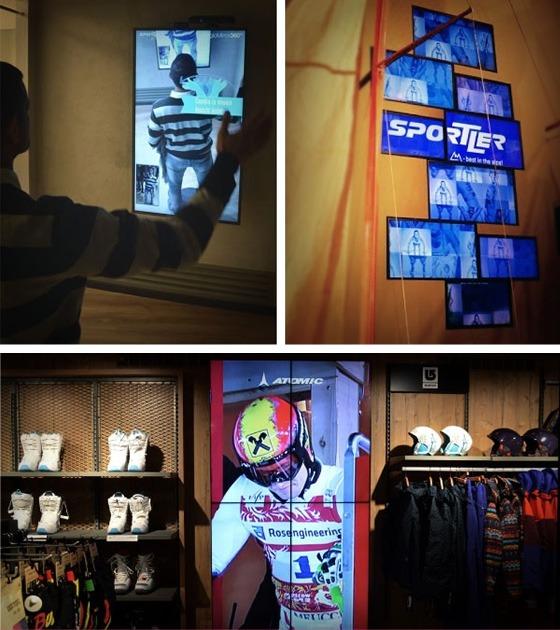 tecnologie interattive e multimediali per il retail