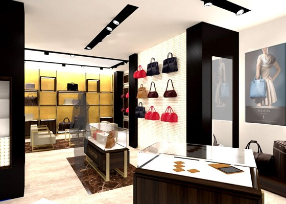 SERAPIAN flagship store Rodeo Drive