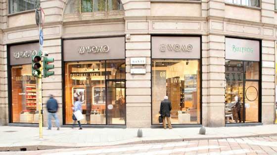 Womo-Bullfrog store milano