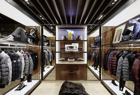 Il concept dello store Moncler di Parigi firmato dallo studio Gilles & Boissier