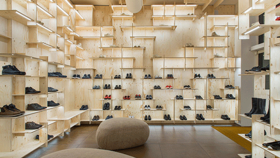 Kengo Kuma ha progettato il suo primo negozio Camper