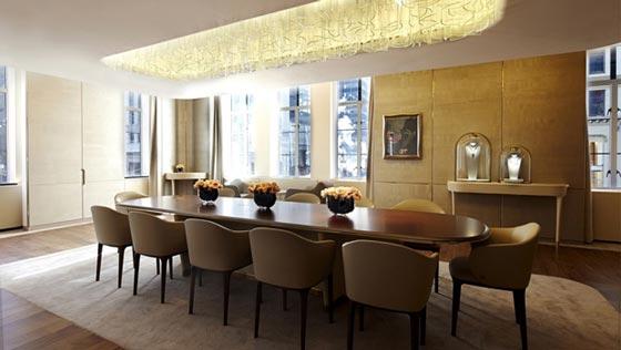 Van cleef arpels nuovo concept per la boutique di new for Appartamenti da sogno interni