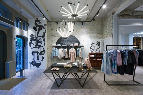 Jigsaw approached Dalziel and Pow with the brief to create a new concept store