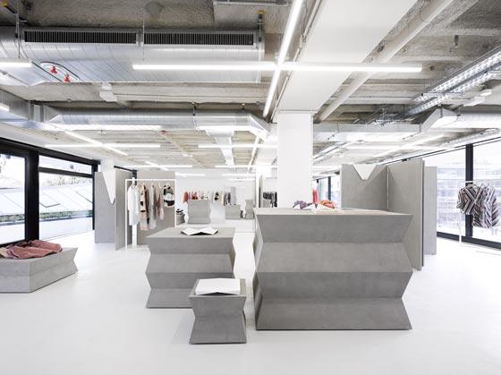 La boutique ODEEH realizzata dallo studio di design messicano Zeller&Moye