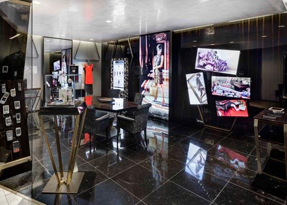 Il concept per la Digital Boutique DS Group è stato elaborato dal retail designer Alessandro Luciani