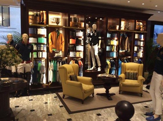 La Martina flagship store Londra