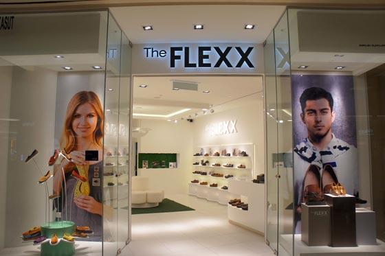 THE FLEXX calzature negozio monomarca Milano
