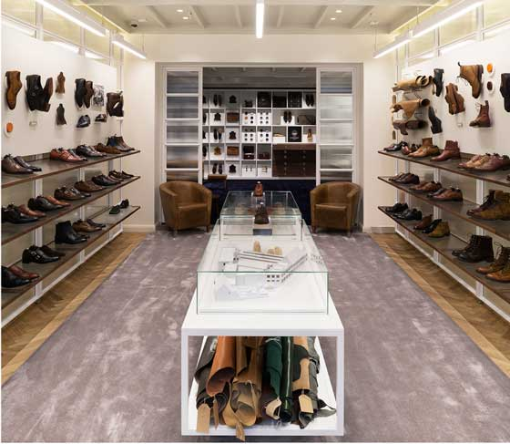 Checkland Kindleysides designs new retail concept for Joseph Cheaney