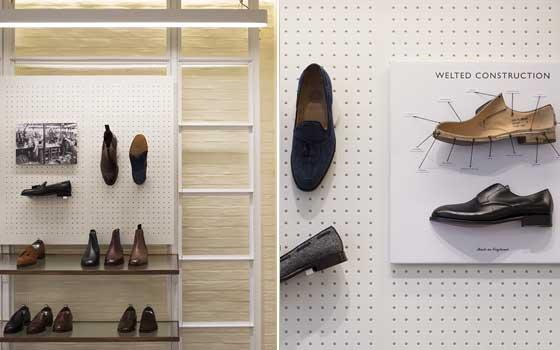 Checkland Kindleysides ha creato il nuovo concept per il negozio Joseph Cheaney