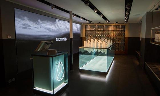 Checkland Kindleyside ha creato un nuovo retail concept per il monomarca Nixon