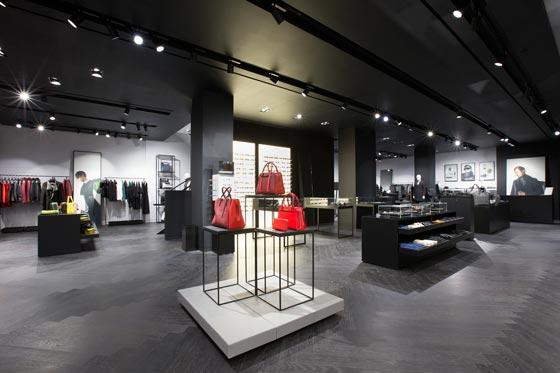 il negozio Porsche Design di New York