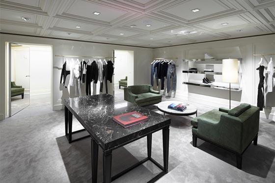 negozio Balmain di Londra