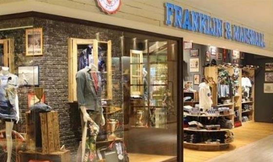 Franklin Marshall Osaka store