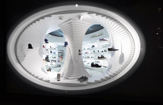 MVSA Architects ha realizzato il nuovo negozio di Shoebaloo