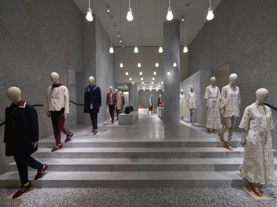 Valentino flagship store Roma AN retail design