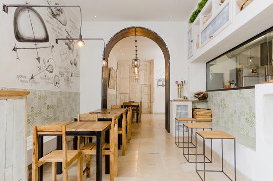 Bis Panzerotti Restaurant by Studio Nomade