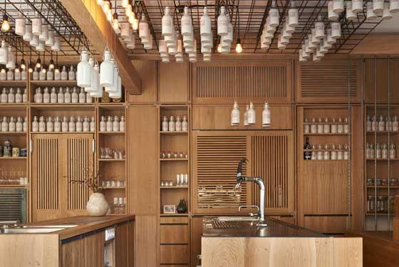 Bar Gamsei di Monaco  un progetto Studio Buero Wagner