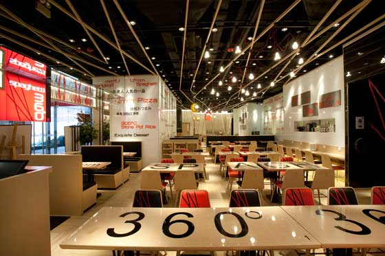 Spaghetti 360° concept store by Clifton Leung Design Workshop
