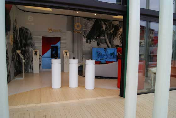 Vodafone pop up store