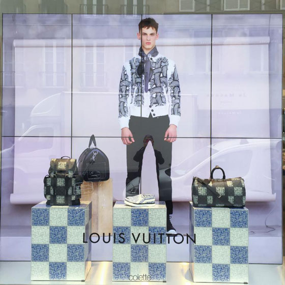 Louis Vuitton pop up store Colette Parigi