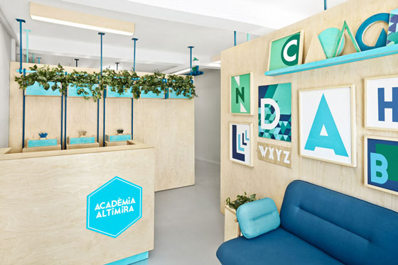 Masquespacio redesigns the brand and space from Acadèmia Altimira