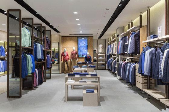 La boutique Meucci di Mosca firmata dallo studio fiorentino PLS design