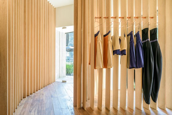 Architecture studio Zeller & Moye designed the first store for the fashion label Sandra Weil