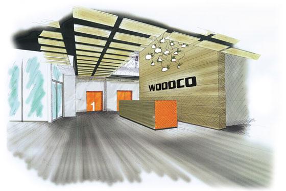 Woodco interno nuova sede