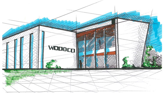 nuova sede Woodco