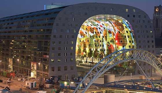 Markthal, Rotterdam by MVRDV and Designers Winy