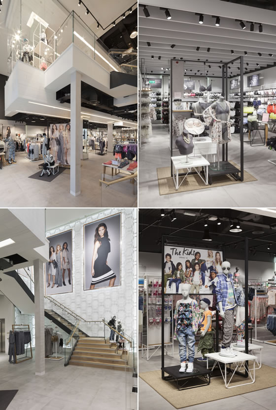 Lindex concept store by Checkland Kindleysides