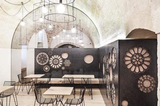 Manca Studio progetto  Caffe RIDOLA Matera