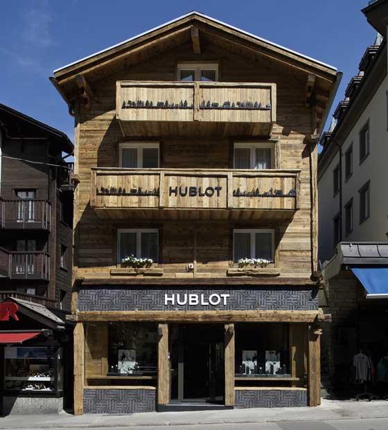 Hublot boutique Zermatt