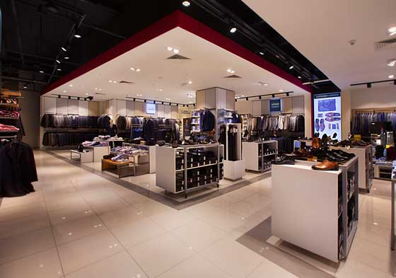 Altınyıldız Classics store designed by CBTE Architecture